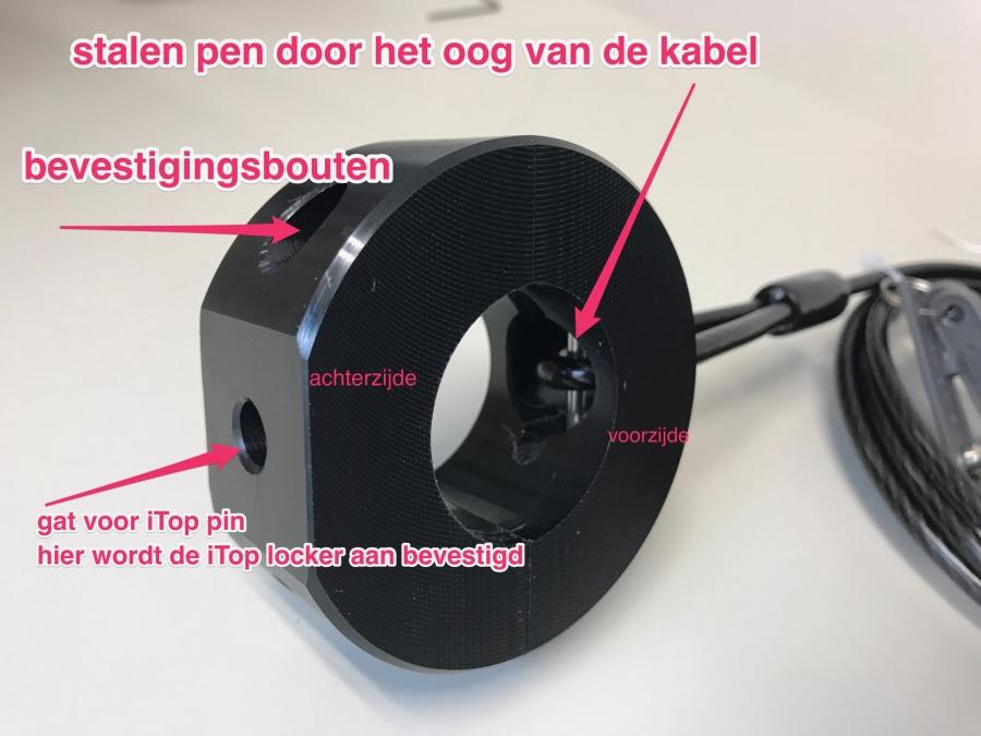 ipad-beveiliging-infuuspaal